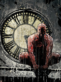 Daredevil No.62 Cover: Daredevil Plastic Sign by Alex Maleev