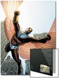 Captain America And The Falcon No.7 Cover: Falcon Prints by Joe Bennett