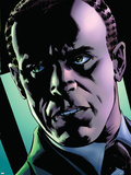 Captain America Reborn No.2 Headshot: Osborn and Norman Plastic Sign by Bryan Hitch