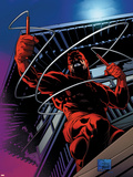 Daredevil No.500: Daredevil Plastic Sign by Joe Quesada