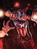 Captain America No.611 Cover: Captain America Chained Plastic Sign by Marko Djurdjevic