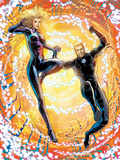 Fantastic Four No.603: Franklin and Valeria Richards Flying Plastic Sign by Barry Kitson