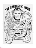 The Fantastic Four Omnibus V1: Mr. Fantastic Plastic Sign by Jack Kirby