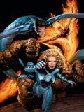 Ultimate Fantastic Four No.21 Cover: Mr. Fantastic Poster by Greg Land