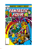 Fantastic Four N186 Cover: Thing Plastic Sign by George Perez