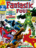 Fantastic Four Annual No.5 Cover: Black Bolt Poster by Jack Kirby