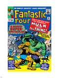 The Fantastic Four No.25 Cover: Hulk Plastic Sign by Jack Kirby