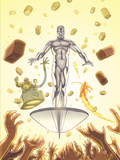 Marvel Adventures Fantastic Four No.28 Cover: Silver Surfer Prints by Paul Smith