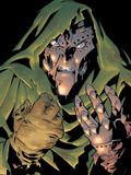 Fantastic Four: The Movie No.1 Headshot: Dr. Doom Plastic Sign by Dan Jurgens