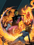 Fantastic Four Foes No.3 Cover: Super Skrull Plastic Sign by Jim Cheung