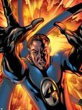 Fantastic Four No.529 Cover: Mr. Fantastic Plastic Sign by Mike McKone