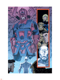 Marvel Adventures Fantastic Four No.26 Group: Galactus Plastic Sign by Cory Hamscher