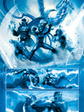 Secret War No.4 Group: Invisible Woman, Captain America, Nick Fury and Spider-Man Prints
