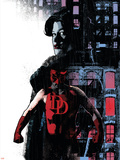 Daredevil Noir No.2 Cover: Daredevil Plastic Sign by Tomm Coker