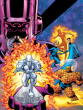 Fantastic Four V1 Cover: Galactus Posters by Mike Wieringo