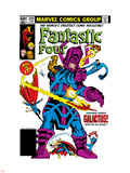 Fantastic Four No.243 Cover: Galactus Plastic Sign by John Byrne