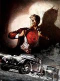 Daredevil No.69 Cover: Daredevil, Murdock and Matt Plastic Sign by Alex Maleev