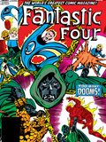 Fantastic Four No.246 Cover: Dr. Doom, Mr. Fantastic, Invisible Woman, Human Torch and Thing Posters by John Byrne