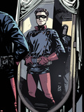 Captain America and Bucky No.620: Bucky Standing in front of a Mirror Plastic Sign by Chris Samnee