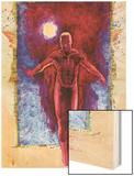 Daredevil No.500: Daredevil Wood Print by David Mack