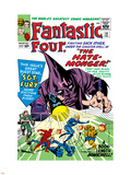 The Fantastic Four No.21 Cover: Mr. Fantastic Plastic Sign by Jack Kirby