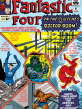 The Fantastic Four No.17 Cover: Mr. Fantastic Posters by Jack Kirby