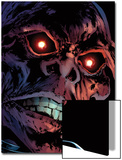 Captain America Reborn No.3 Headshot: Red Skull Print by Rian Hughes