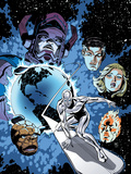 Marvel Adventures Fantastic Four No.26 Cover: Silver Surfer Prints by Paul Smith