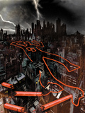 Daredevil: Reborn No.1 Cover: The City at Night Wall Decal by  Jock