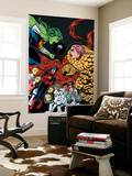 Ff 12 Cover: She-Hulk, Ms. Thing, Ant-Man, Medusa, Mik, Korr, Turg, Tong, Ahura, Vil, Wu Wall Mural by Michael Allred
