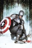 Captain America: Living Legend 2 Cover: Captain America Plastic Sign by Adi Granov