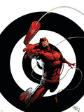 Dark Reign: The List - Daredevil No.1 Cover: Daredevil Plastic Sign by Billy Tan