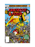Fantastic Four N185 Cover: Thing Plastic Sign by George Perez