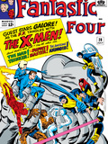 The Fantastic Four No.28 Cover: Mr. Fantastic Prints by Jack Kirby