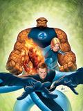 Ultimate Fantastic Four No.7 Cover: Mr. Fantastic Plastic Sign by Stuart Immonen