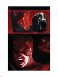 Daredevil: Blood Of The Tarantula No.1 Cover: Daredevil and Black Tarantula Plastic Sign