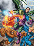 Marvel Adventures Fantastic Four No.0 Group: Mr. Fantastic Print by Carlo Pagulayan