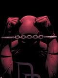 Daredevil No.82 Cover: Daredevil Plastic Sign by Steve MCNiven