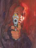 Black Widow 2 No.2 Cover: Black Widow Plastic Sign by Bill Sienkiewicz
