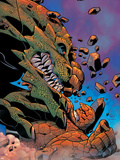 Fantastic Four No.518 Cover: Thing Plastic Sign by Mike Wieringo