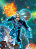 Fantastic Four No.522 Cover: Storm and Johnny Wall Decal by Mike Wieringo
