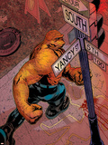 Marvel Knights 4 No.4 Cover: Thing Plastic Sign by Valentine De Landro