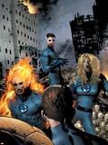 Ultimate Fantastic Four 22 Group: Mr. Fantastic Plastic Sign by Greg Land