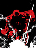 Daredevil Father No.1 Cover: Daredevil Plastic Sign by Joe Quesada