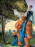 Marvel Adventures Fantastic Four No.5 Cover: Mr. Fantastic Wall Decal by Manuel Garcia