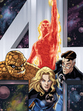 Fantastic Four Giant-Size Adventures No.1 Cover: Invisible Woman Plastic Sign by David Williams