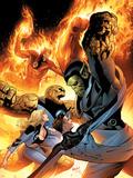 Ultimate Fantastic Four No.28 Cover: Super Skrull Plastic Sign by Greg Land