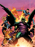 Fantastic Four: Foes No.2 Cover: Annihilus Plastic Sign by Jim Cheung
