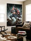 Captain America: Living Legend 1 Cover: Captain America Wall Mural by Adi Granov