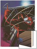 Daredevil No.500: Daredevil Wood Print by Joe Quesada